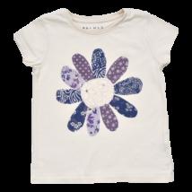 Virágos póló (104-110)