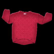 Bordó pulóver (98)