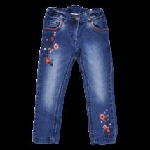 Hímzett virágos farmernadrág (98)
