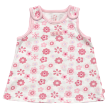 Virágos újszülött trikó-50-56