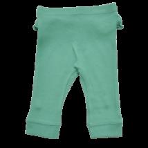Fodros zöld pamut nadrág (68)
