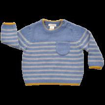 Zsebes kötött pulóver (62)