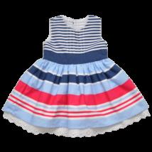 csíkos nyári kislány ruha