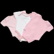 Rózsaszín body szett (56-62)