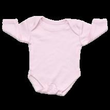 Rózsaszín hosszú ujjú body (50)