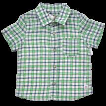 Zöld kockás ing (74)