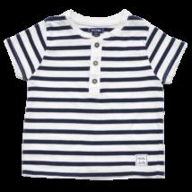 Kék csíkos póló (62-68)