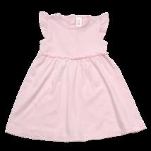 Rózsaszín fodros nyári ruha (86)