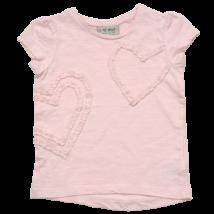 Rózsaszín szíves póló (86)