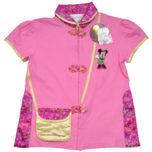 Rózsaszín Minnie blúz (128-134)