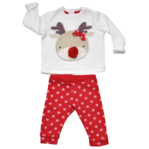 Rénszarvas mintás karácsonyi szett (68)