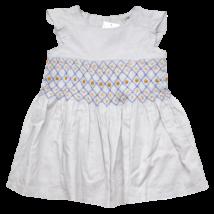 Szürke darázsolt nyári ruha (92)