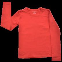 Használt gyerekruha, Lány felső, Hosszú ujjú pamut póló,