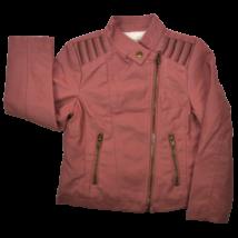 Mályva műbőr kabát (122)