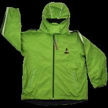 Zöld átmeneti kabát (128-134)