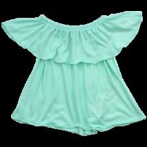 Menta zöld kislány blúz-98