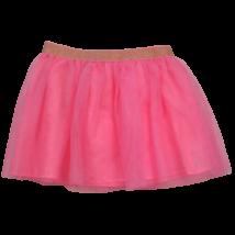 Rózsaszín kislány tüllszoknya 122-es méretben.