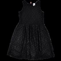 C&A fekete csipkeruha-134-140