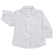Fehér alkalmi gyerek ing lányoknak-122