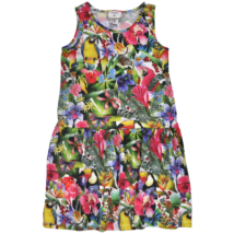 H&M trópusi mintás pamut gyerekruha-122-128