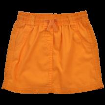 Narancssárga pamut lány szoknya-98