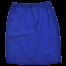 Kék gyerek pamut szoknya-140-146