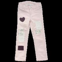 H&M rózsaszín kislány farmernadrág-104