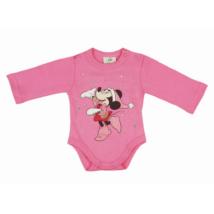 Minnie pink karácsonyi body (62)
