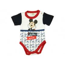 Horgony mintás Mickey body (62-80)