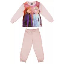 Jégvarázs rózsaszín lány pizsama (110-128)