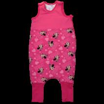 Pink Minnie mintás baba tipegő hálózsák.