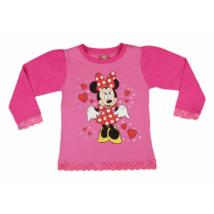 Csipkés Minnie felső pink (86)