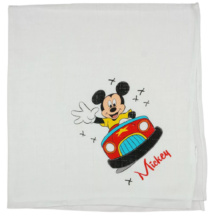 disney-mickey-egér-autó-mintás-textil-pelenka