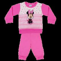 minnie-rózsaszín-pamut-gyerek-pizsama