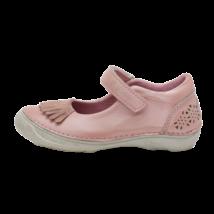 Rózsaszín rojtos nyitott cipő (25-30)