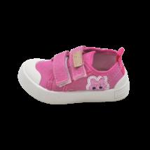 Rózsaszín nyuszis vászoncipő (20-25)