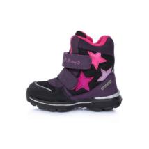 Pink csillagos aqua-tex cipő (24-29)