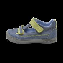 Kék-zöld nyitott cipő (31-36)
