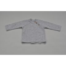 Barna gombos pulóver (68)