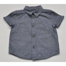 Kék, mintás ing (80)