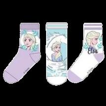 Elza Jégvarázs lila zokni szett (23-34)