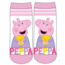 Peppa malac fehér gyerek zokni (23-34)