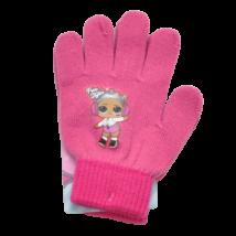 LOL rózsaszín-pink kesztyű (5-11 év)