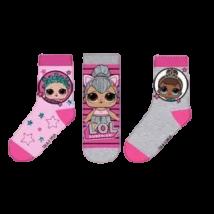 LOL Surprise szürke zokni szett (23-34)