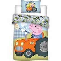 Peppa és George traktoros ágyneműhuzat
