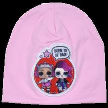LOL-baba-átmeneti-gyerek-sapka-rózsaszín