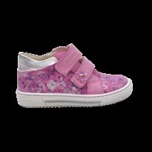Rózsaszín virágos cipő (26)