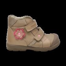 Drapp virágos supinált cipő (27)