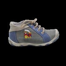 Hímzett vonatos cipő (22)