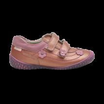 Virágos rózsaszín cipő (31-32)